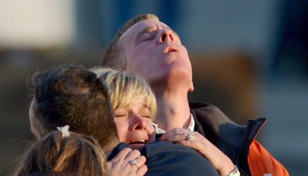 Masacre en Newtown. Foto EFE