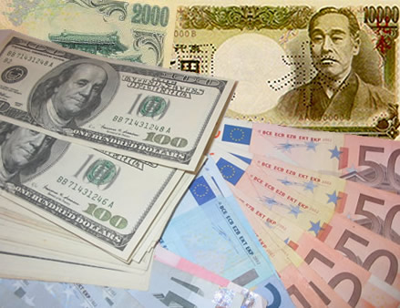 Resultado de imagen para l dólar, el euro y el yen