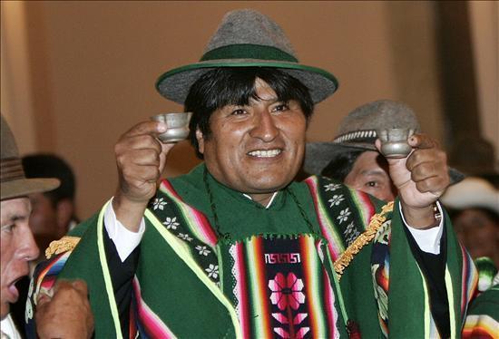 Evo Morales, presidente de Bolivia. Foto de Archivo, La República.