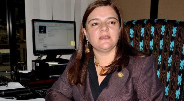 Ximena Vintimilla, jueza de la Corte Nacional de Justicia, en fotografía del 17 de diciembre de 2012, difundida por el diario La Hora.
