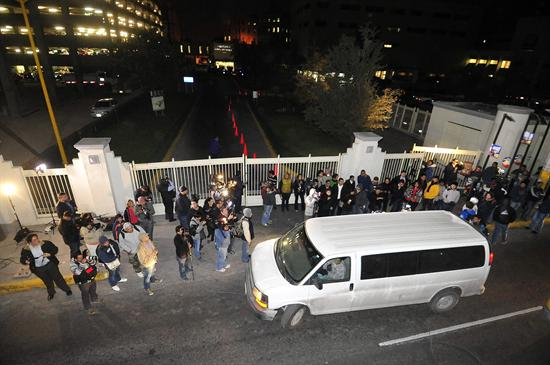Llegan restos Jenni Rivera a Monterrey
