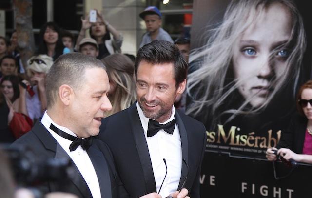 Hugh Jackman Russell Crowe