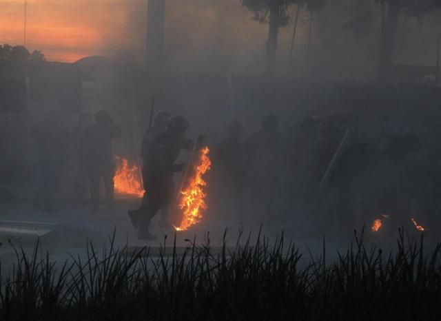 Mexico enfrentamiento