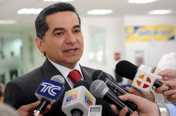 Fernando Alvarado, en diciembre de 2012.