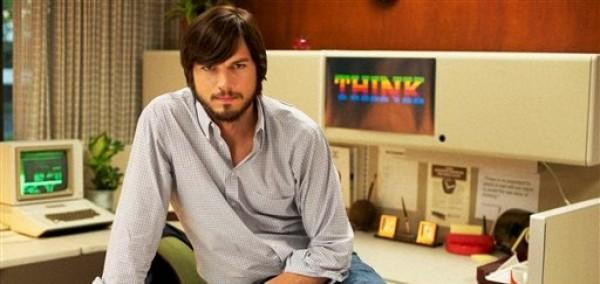 """En esta imagen promocional difundida por el Instituto Sundance, Aston Kutcher encarna a Steve Jobs en el filme """"JOBS"""", a estrenarse en el Festival de Cine de Sundance en enero del 2013. (AP Foto/Instituto Sundance, Dale Robinette)"""