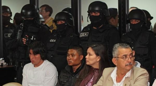 QUITO 14 DE DICIEMBRE 2012. Caso Quinsaloma en la foto Carolina Llanos. FOTOS API / JUAN CEVALLOS.
