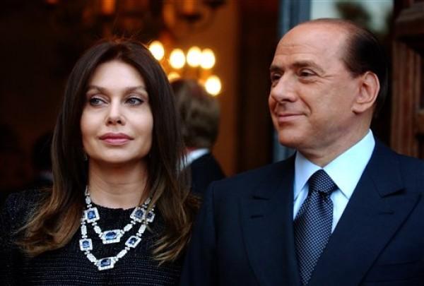 Silvio Berlusconi, Veronica Lario