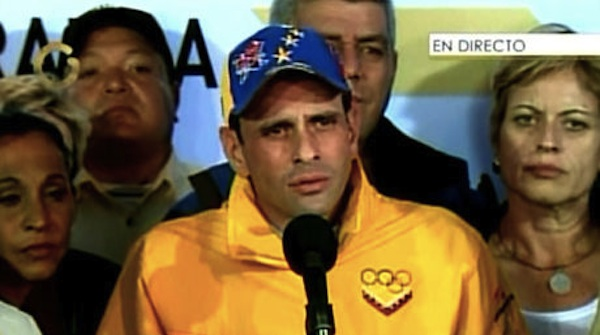 capriles gobernador