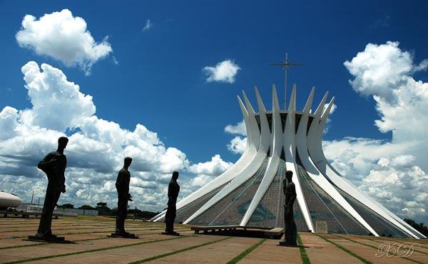 Catedral de Brasilia. Foto de Archivo, La República.
