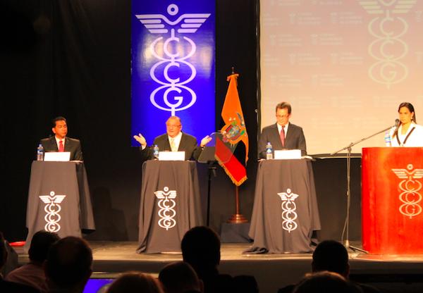 Debate presidencial 2012. Foto de Archivo: La República.