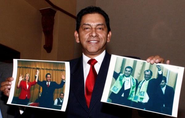 QUITO 03 DE DICIEMBRE DEL 2012. Rueda de prensa del candidato presidencial Lucio Gutierrez. En el hotel Marriot de Quito.APIFOTO/DANIEL MOLINEROS
