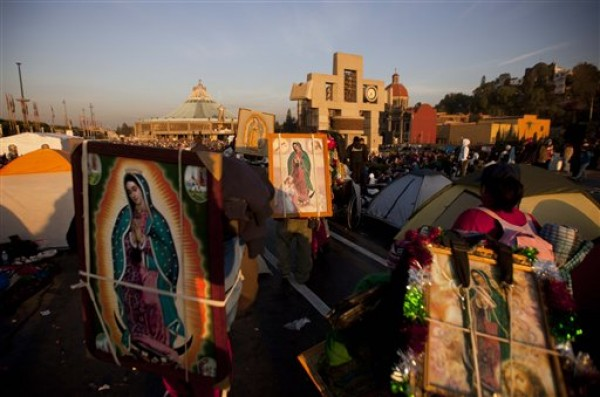 MEXICO-VIRGEN DE GUADALUPE