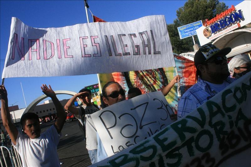 Caravana por los derechos de los indocumentados en Estados Unidos. Foto de Archivo, La República.