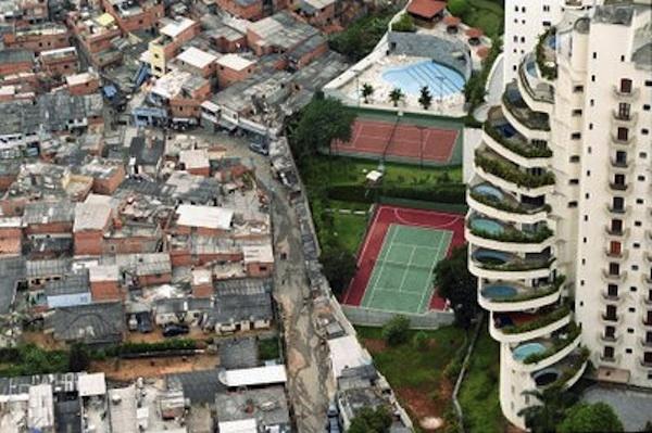 Desigualdad social. Foto de Archivo, La República.