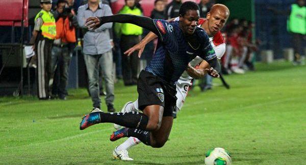 QUITO 30 DE ENERO DEL 2013. Independiente vs Liga de Loja. FOTOS API / JUAN CEVALLOS.