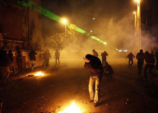 Manifestantes Egipto