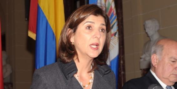 María Ángela Holguín. Foto de archivo