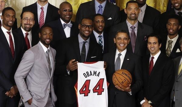 Obama_Miami Heat