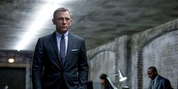 Daniel Craig en una escena de la película de James Bond, Skyfall, en una imagen proporcionada por Sony Pictures. (Foto AP/Sony Pictures, Francois Duhamel)