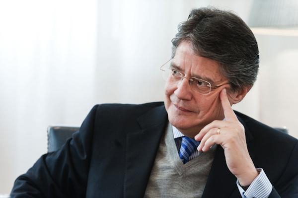 Guillermo Lasso. Foto de Archivo, La República.