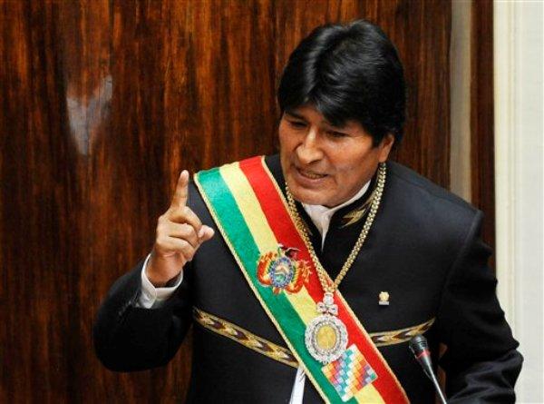 Evo Morales, (AP foto/Jorge Bernal, Pool)