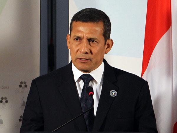 Ollanta Humala. Foto de Archivo: La República.