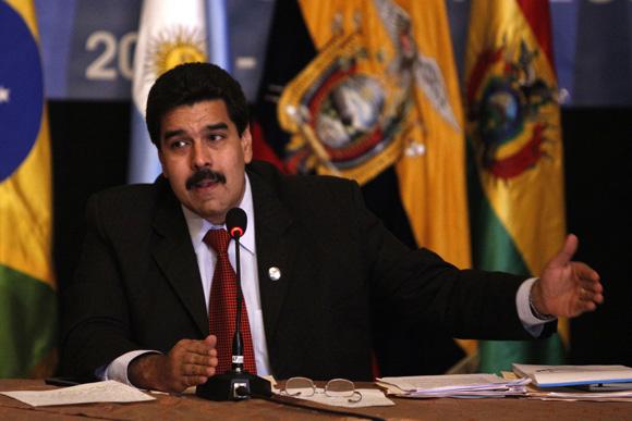 ECUADOR-UNASUR-VENEZUELA-MADURO