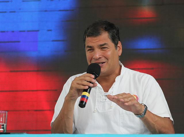 Rafael Correa La Roldos