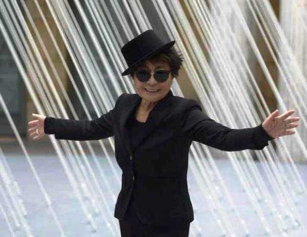 Yoko Ono. Foto de Archivo, La República.
