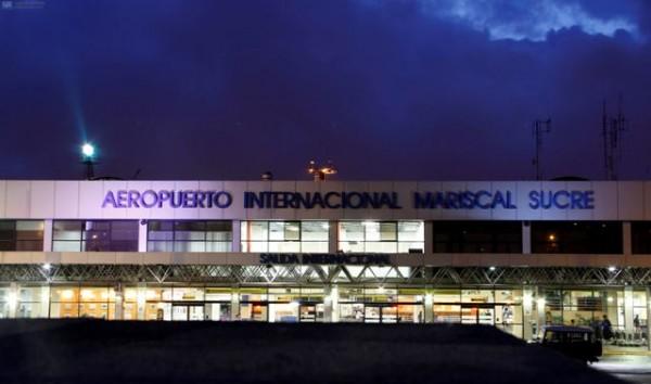 El aeropuerto Mariscal Sucre, empezó el 10 de febrero el proceso de mudanza a la nueva locacion en Tababela. APIFOTO/ Javier CAZAR
