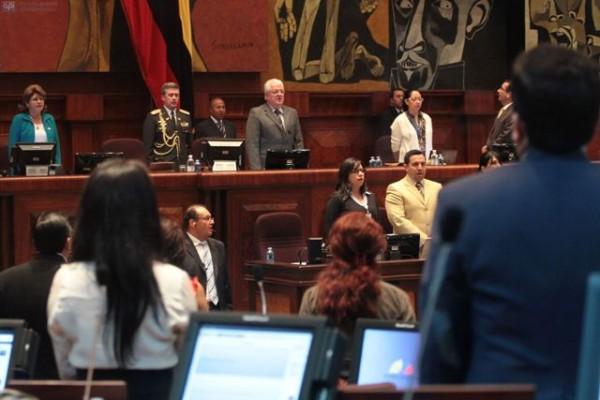 QUITO 26 DE FEBRERO DE 2013. Asamblea en el Pleno. FOTOS API / JUAN CEVALLOS.