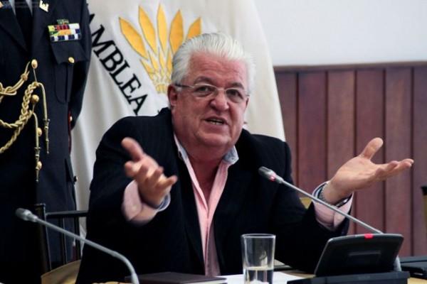 QUITO 20 DE FEEBRERO DEL 2013, Fernando Cordero presidente de la Asamblea Nacional, en rueda de prensa sobre los resultados electorales y futuro de las leyes y la Asamblea. APIFOTO/DANIEL MOLINEROS