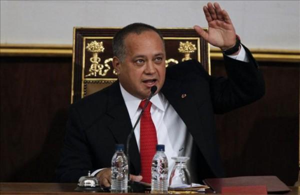 Diosdado Cabello, presidente de la Asamblea Nacional de Venezuela. Foto de Archivo, La República.