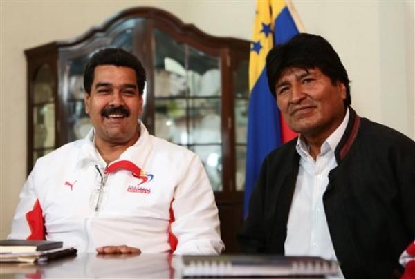 Nicolas Maduro, Evo Morales