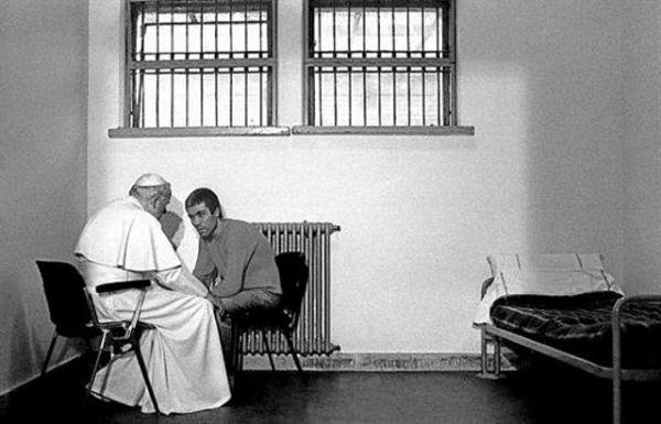 El perdón de Juan Pablo II.