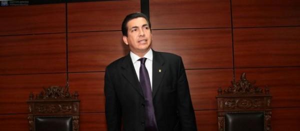 """QUITO 28 DE FEBRERO DE 2013. Audiencia del caso """"Pedro Delgado"""". FOTOS API / JUAN CEVALLOS."""