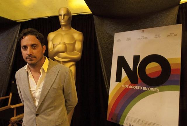 """""""No"""" nominada al Óscar como mejor pelicula extranjera."""