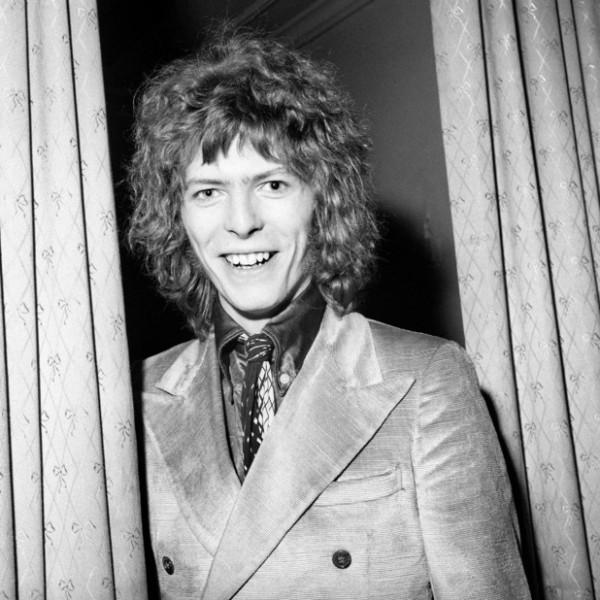 David Bowie, febrero de 1970.