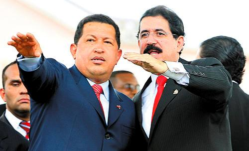 Chavez y Zelaya