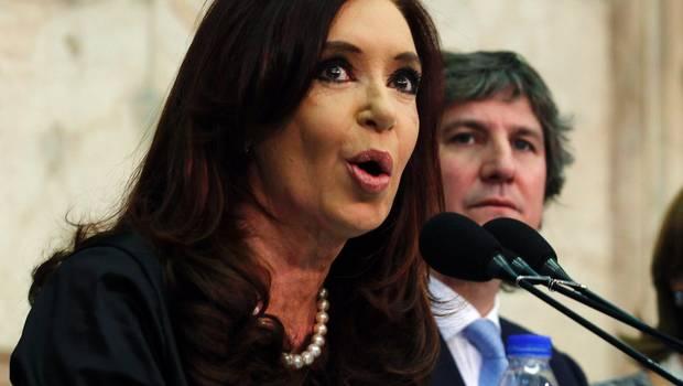 Cristina Fernández felicita a Francisco I