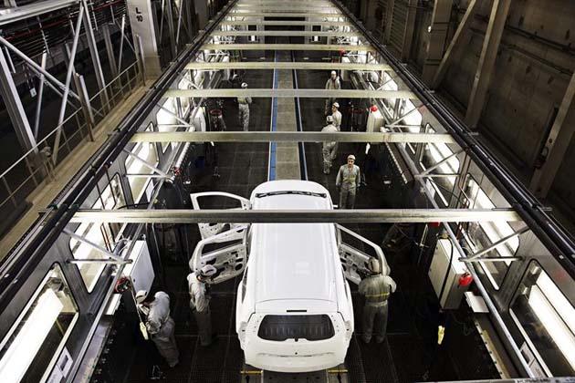 Fabrica de ensamblaje de Renault