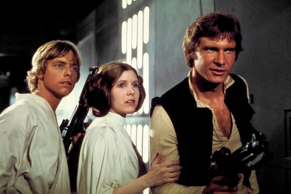 Han, Leia, Luke