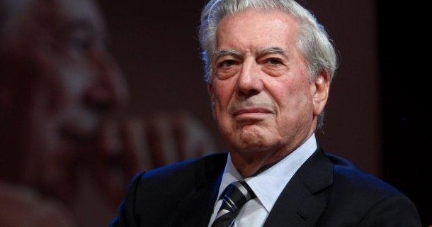 Mario Vargas Llosa, Nobel de Literatura. Foto de Archivo, La República.