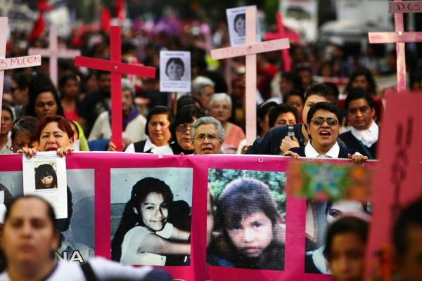 Mexico marchas dia mujer