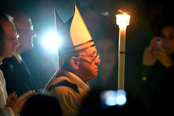 Papa Francisco luz de Cristo