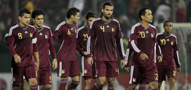 Foto de archivo. Selección de Venezuela. Foto AP.