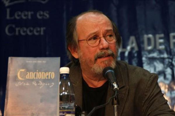 Silvio Rodríguez, cantautor cubano. Foto de Archivo, La República.