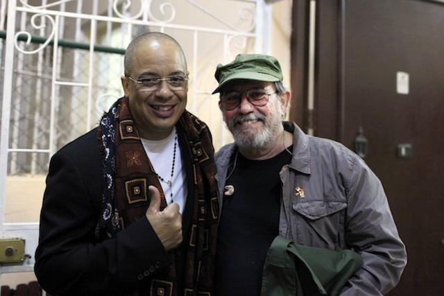 Silvio Rodriguez, Isaac Delgado