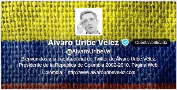 Uribe twitter