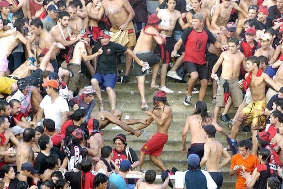 Violencia en los estadios Argentinos